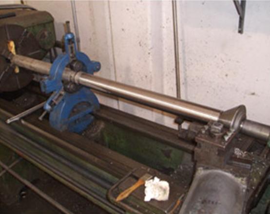 new rudder shaft